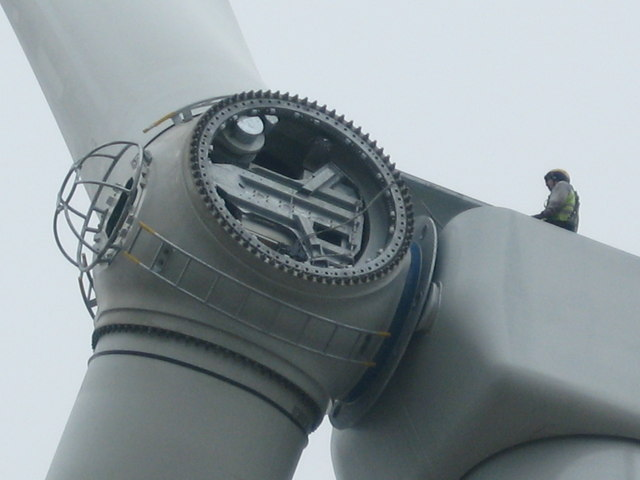 Hub of Turbine No 23