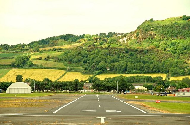 Runway, Newtownards aerodrome (2)