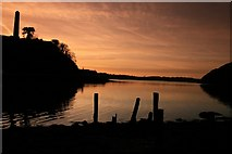 S9923 : Slaney River at Dusk - Near Ferrycarrig by Brian Hodge