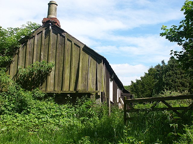 Old Joiners workshop at Twizell Mill