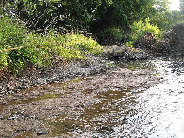 Flood Scoured River Bed