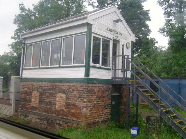 North Llanrwst Signalbox