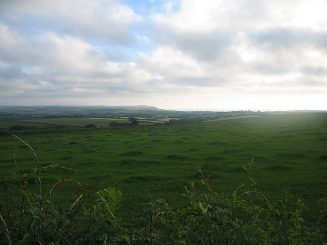 Farmland near Hobbacott