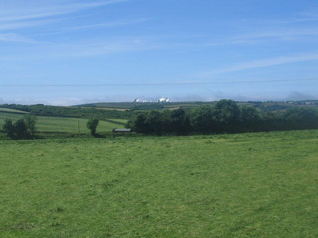 Farmland near Lower Stursdon