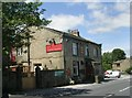 SE0634 : The New Inn - Keighley Road, Denholme Edge by Betty Longbottom
