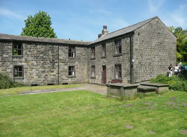 Former vicarage and school, Cragg Vale, Mytholmroyd