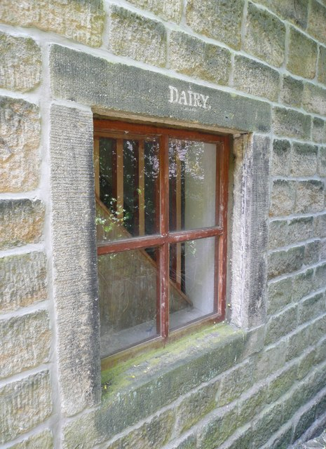 Dairy window, Cragg Vale, Mytholmroyd