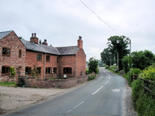 Agden - the last house in Cheshire
