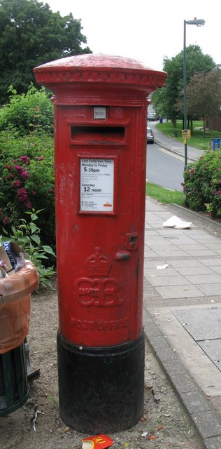 Edward VIII postbox, St James Way