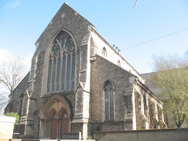 Former St James church, New Cross