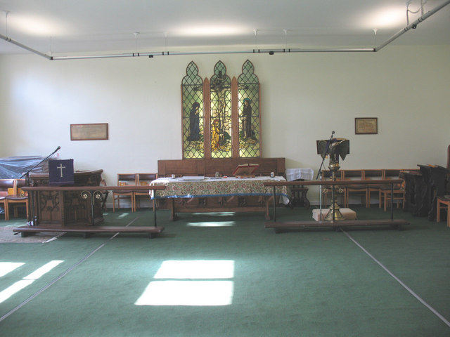 Interior of St James's church