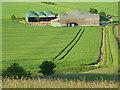 SU1161 : Barns, Woodborough by Andrew Smith