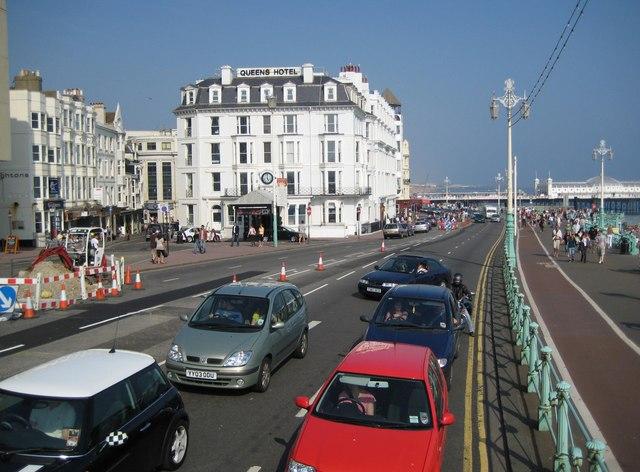 Queens Hotel Brighton Parking