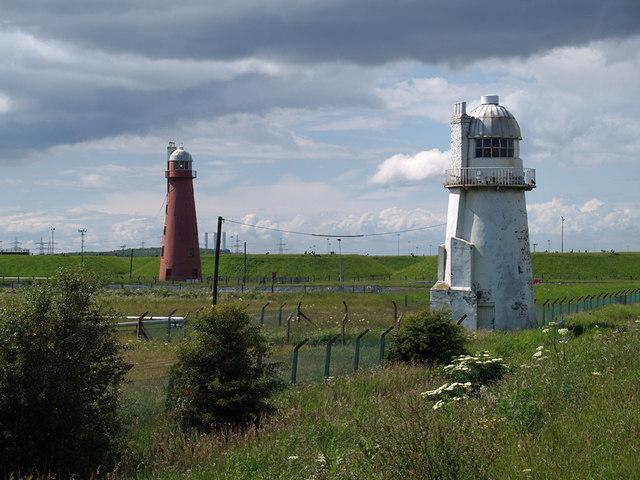 South Killingholme Lighthouses