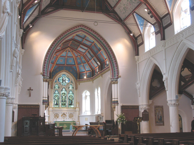Interior of St Stephen's church