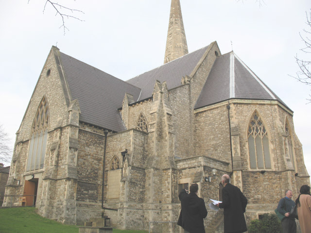 South side of Holy Trinity church