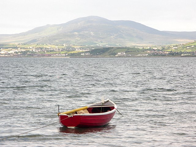 Dinghy at Inch Harbour
