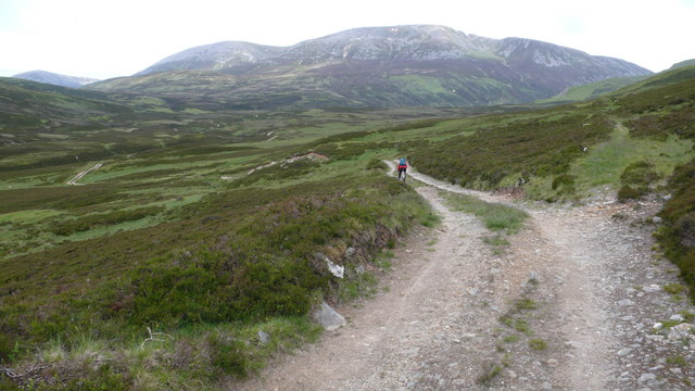 Track towards Glen Loch