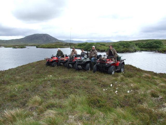 Quads at Loch Fada Gobha