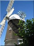 TL5770 : Wicken Windmill by Alison Rawson