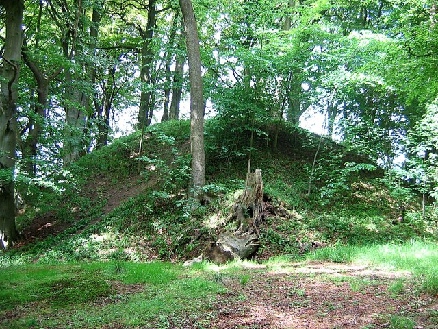 Motte and Bailey Castle, Gunnerton