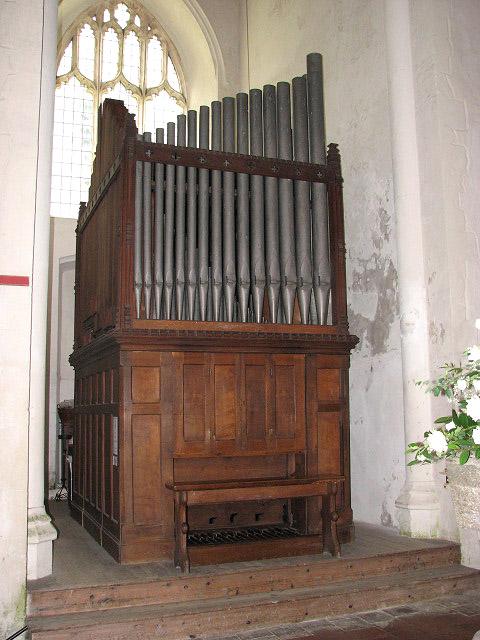 St Mary's church - organ by Wm Denman of York