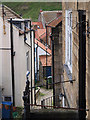 NZ7818 : Backlane at Staithes : Week 24