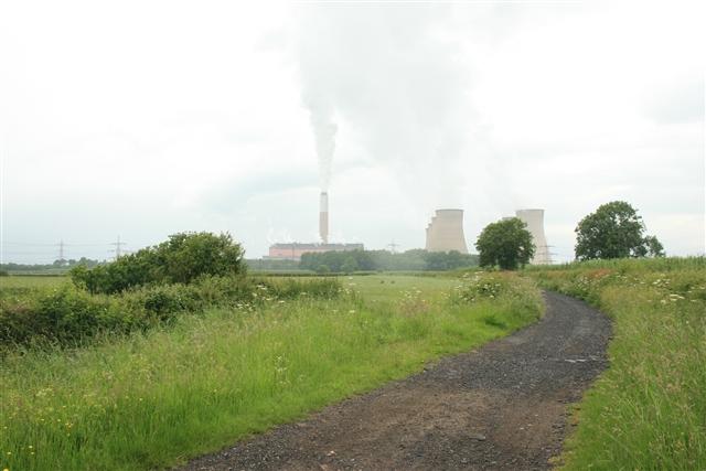 Shortley's Road, Cottam power station