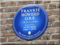 Photo of Frankie Howerd blue plaque