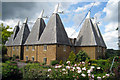 TQ7353 : Court Lodge Farm Oast, Lower Road, East Farleigh, Kent by Oast House Archive