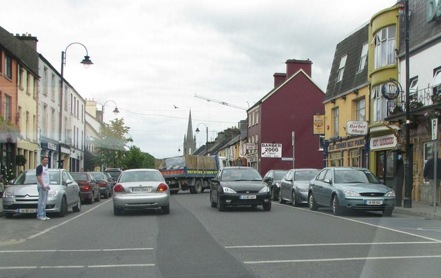 Busy part of Claremorris