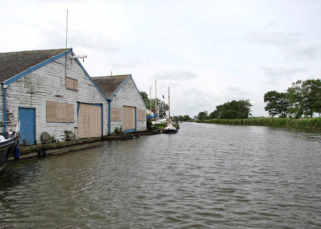 Martham boatyard
