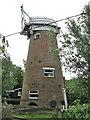TG4419 : Martham Level Drainage Mill by Evelyn Simak