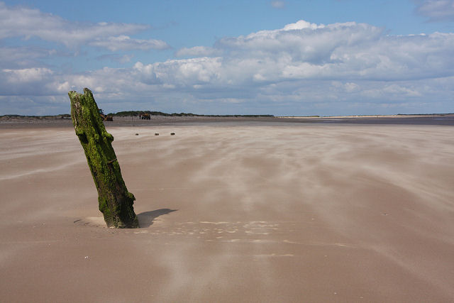 Post in the sand, Brancaster