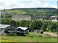 SE0814 : Spa Mills, Slaithwaite by Humphrey Bolton