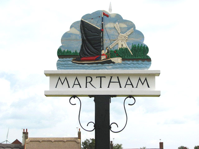Village sign - detail