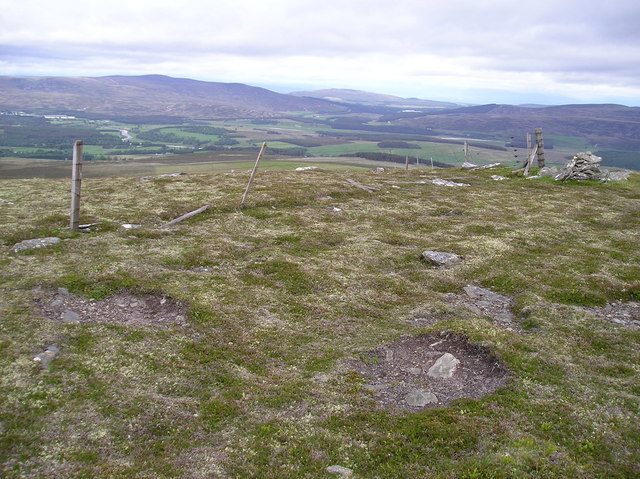 Looking Northwest from the Trig Point