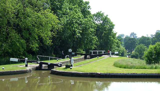 Watford Staircase Locks, Northamptonshire