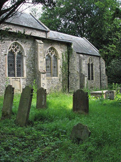 St Botolph's church - churchyard