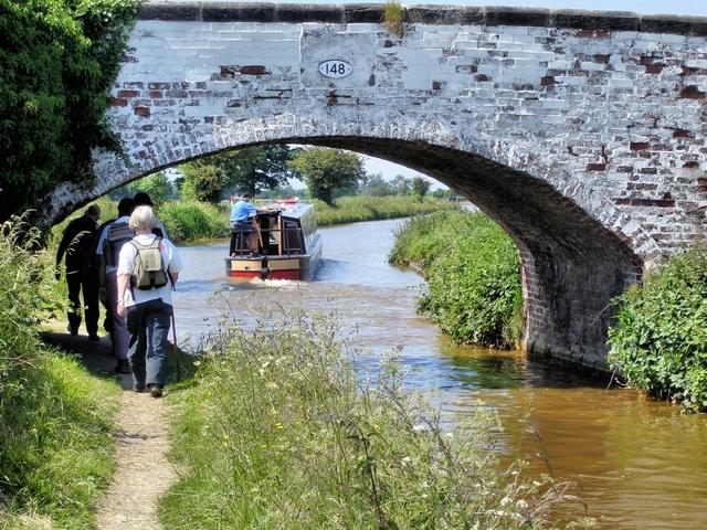 Bridge 148 on the Trent & Mersey Canal