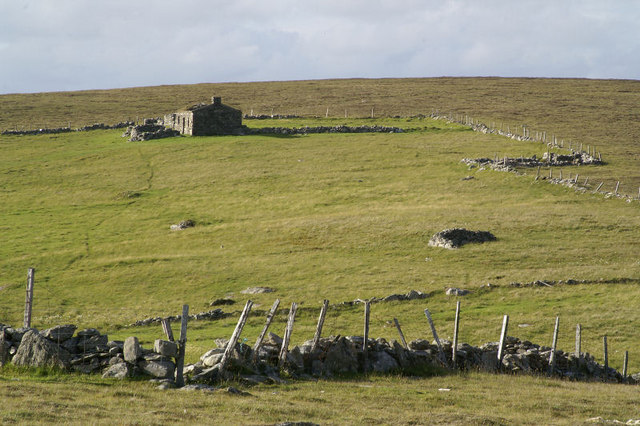 Ruined croft at Gossa Water