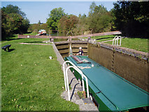 SU3168 : Picketfield Lock No 71, Kennet and Avon Canal by Dr Neil Clifton