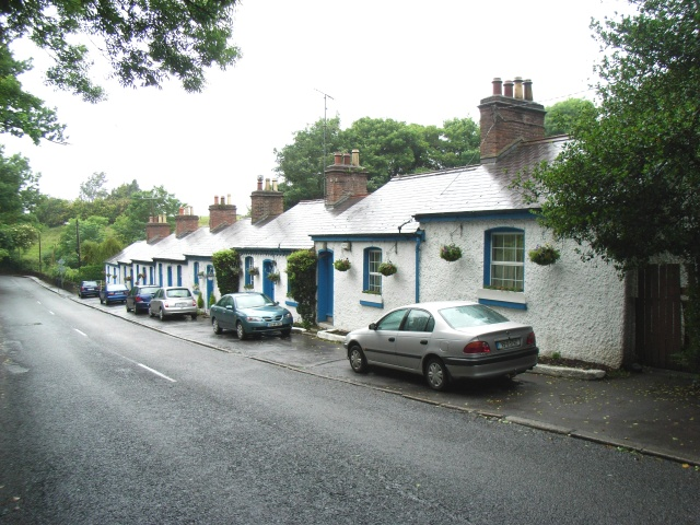 row of cottages at the sand holes jp geograph ireland rh geograph ie cottages for rent dublin ireland holiday cottages dublin ireland