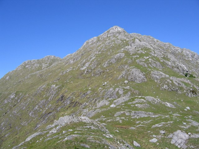 West ridge of An Stac