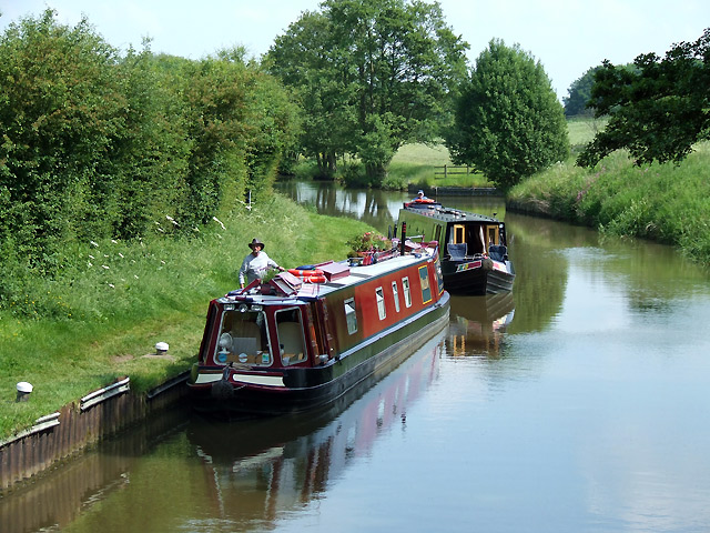 Grand Union Canal near Watford, Northamptonshire