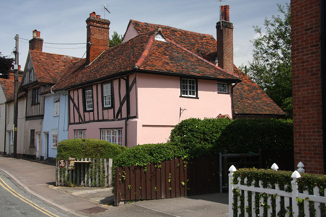 Cottages in Bures