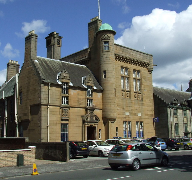 Renfrew police station thomas nugent geograph britain and ireland renfrew police station sciox Image collections