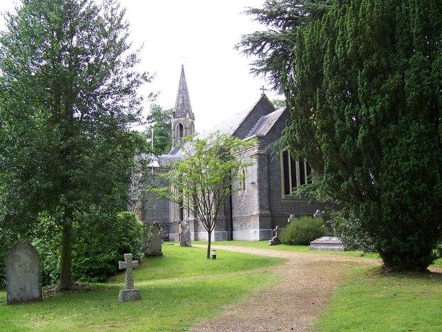 St Marks Church, Ampfield