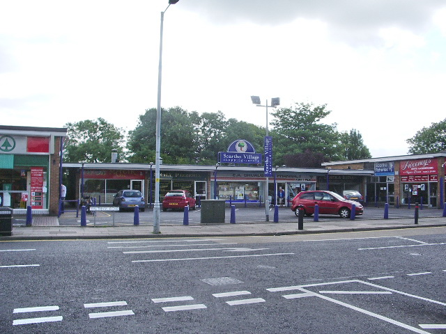 Parade of shops on Waltham Road, Scartho