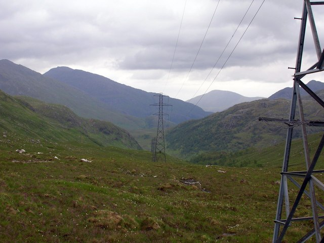 Pylons down the valley